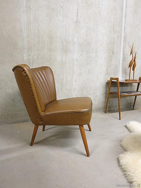 vintage cocktail stoel jaren 50 bestwelhip. Black Bedroom Furniture Sets. Home Design Ideas