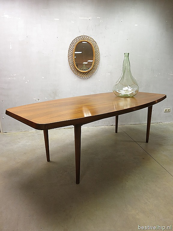 Design Eetkamer Tafel.Mid Century Design Eetkamertafel Deens Vintage Design Dinner Table
