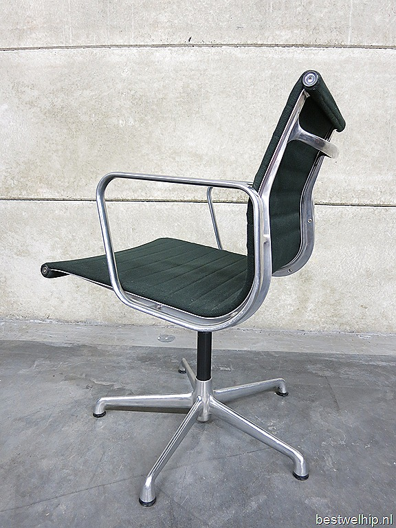 Vintage charles ray eames stoel swivel chair bestwelhip for Design bureaustoel eames