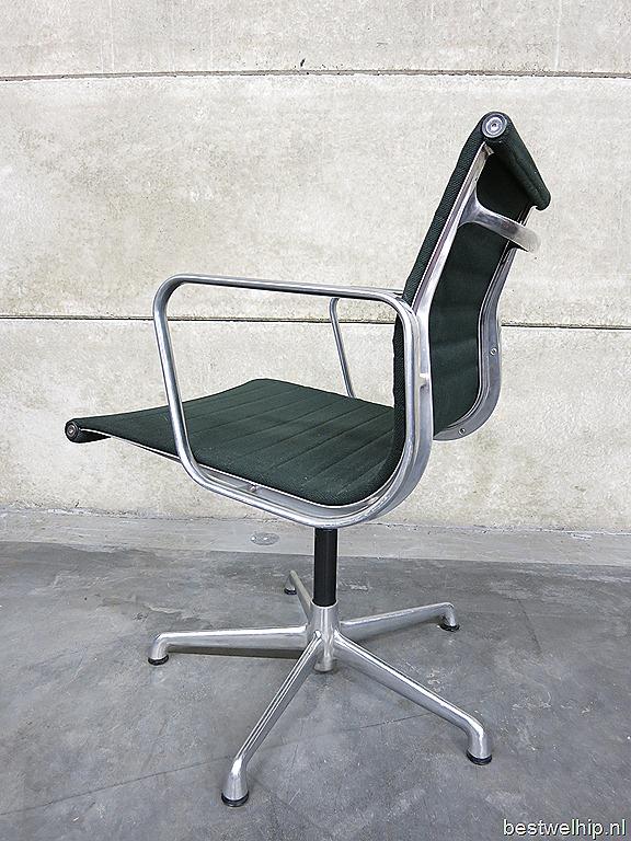 Vintage charles ray eames stoel swivel chair bestwelhip for Herman miller stoel