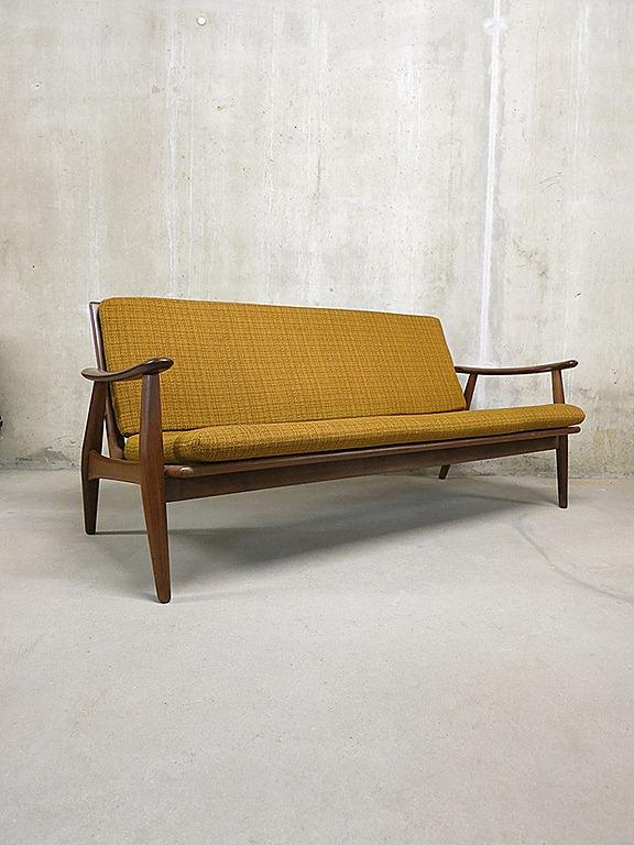 Scandinavische Lounge Bank Sofa Mid Century Vintage Design