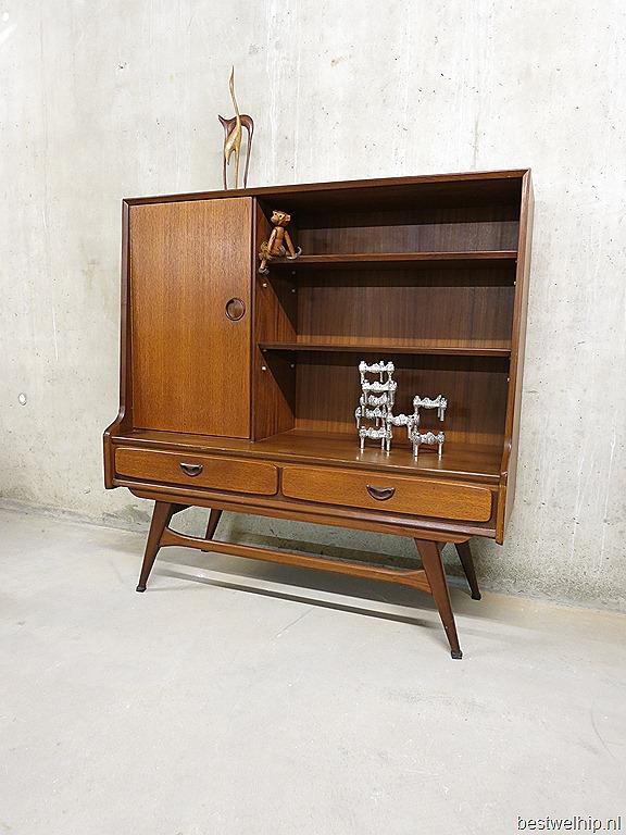 vintage side board dressoir wandkast Webe Louis van Teeffelen retro ...