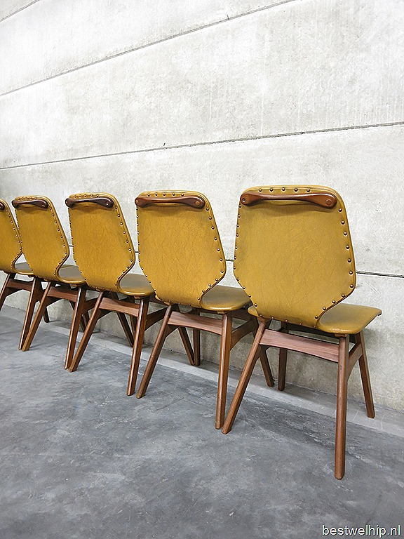 Vintage dining chairs, vintage design eetkamerstoelen Deense stijl   Bestwelhip
