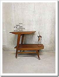 A symmetrische side table trolley deense stijl bestwelhip - Scandinavische cocktail tafel ...