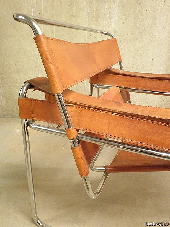 Wassily chair naar ontwerp van marcel breuer bestwelhip for Bauhaus stoel leer