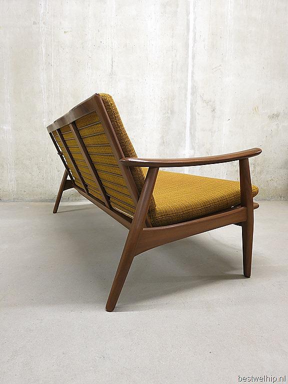 Scandinavische lounge bank mid century design, Vintage Danish modern ...