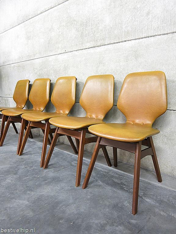 Vintage Design Eetkamerstoelen.Vintage Dining Chairs Vintage Design Eetkamerstoelen Deense