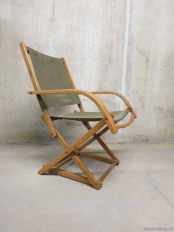 Vintage torck strandstoel deense stijl bestwelhip for Deense meubels vintage