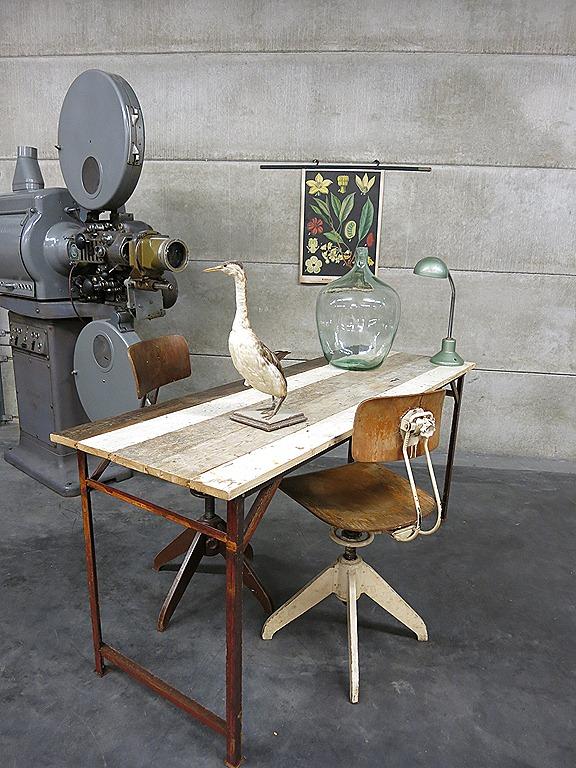 Industri 235 Le Tafel Bureau Vintage Sidetable Industrial