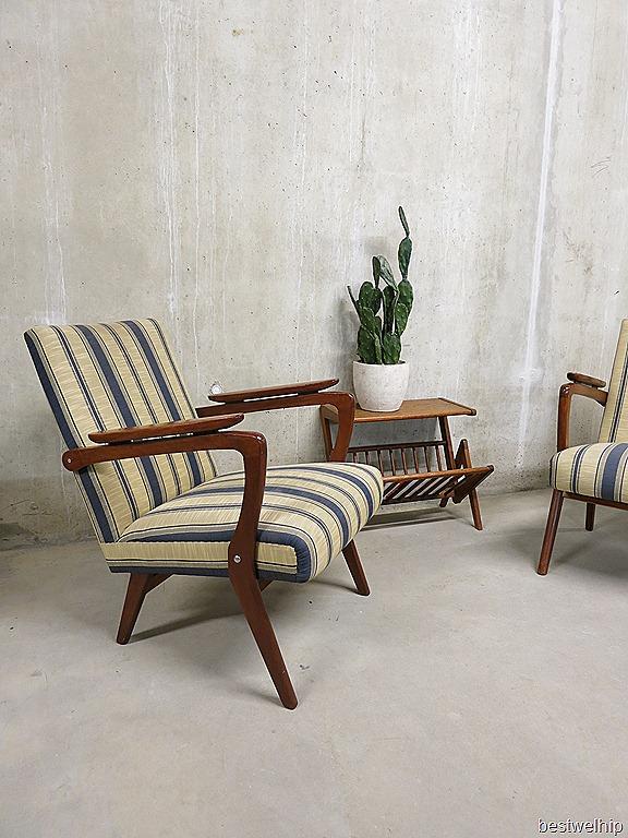 Vintage design fauteuils scandinavische stijl bestwelhip - Lounge stijl ...
