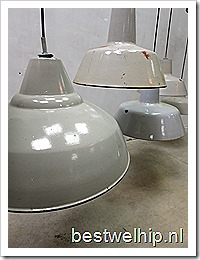 Industrial lamps, lampen industrieel vintage authentiek loft