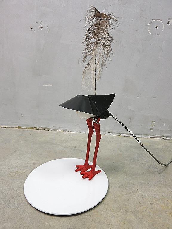 Ingo Maurer Vintage Design Bird Lamp Bibibibi Early
