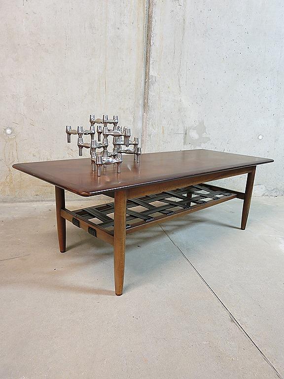 Deense Vintage Salontafel.Mid Century Danish Coffee Table Salontafel Deens Vintage Design