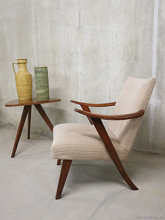 vintage lounge chair easy chair | bestwelhip, Deco ideeën
