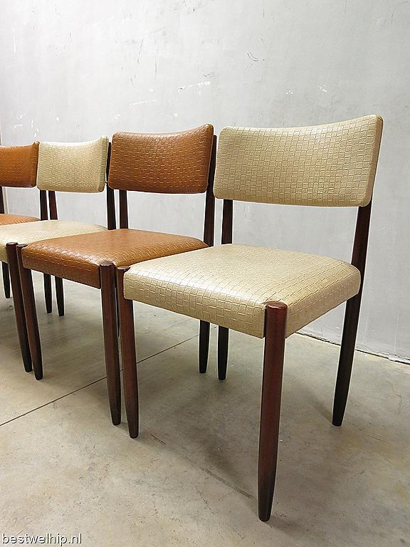 Fifties vintage design eetkamer stoelen fifties vintage design dinner chairs bestwelhip - Hedendaagse stoelen eetkamer ...