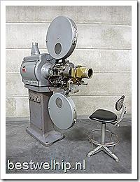 Vintage filmprojector Bauer B12 original cinema projector