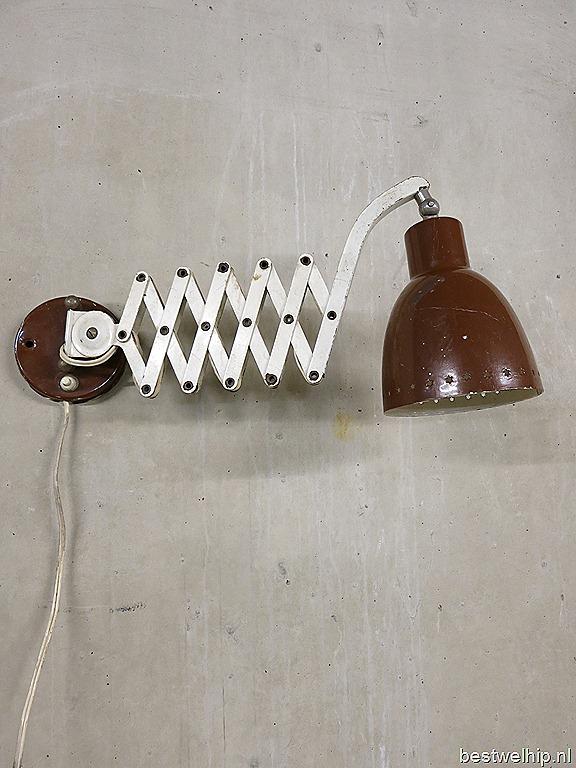 Metalen Wandlamp Schaarlamp Industrieel Bestwelhip