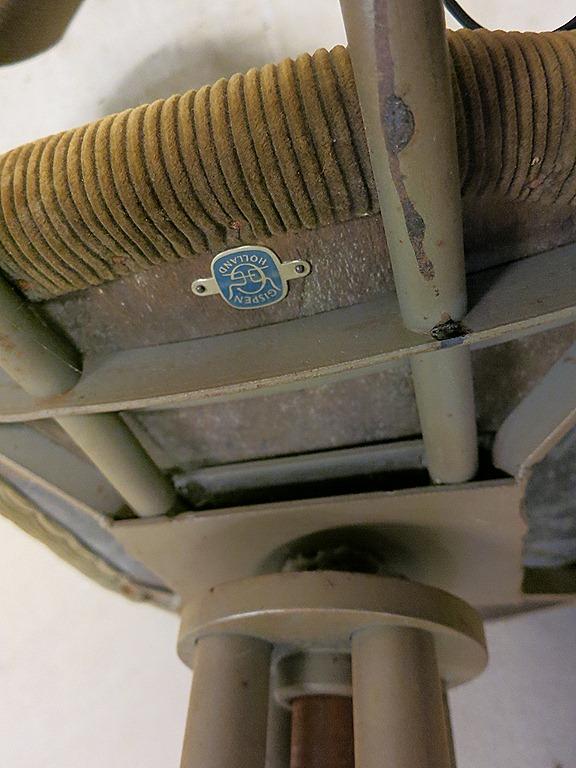 Gispen typiste stoel desk chair industrial bestwelhip for Bauhaus stoel vintage