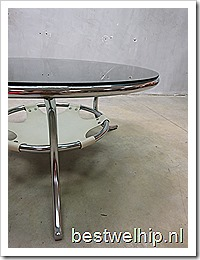 Vintage design coffee table 'Mad men style', vintage design salontafel koffietafel