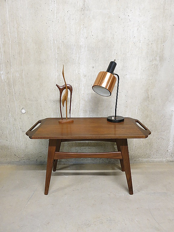 Bijzettafel Modern Design.Danish Modern Coffee Table Bijzettafel Deens Bestwelhip