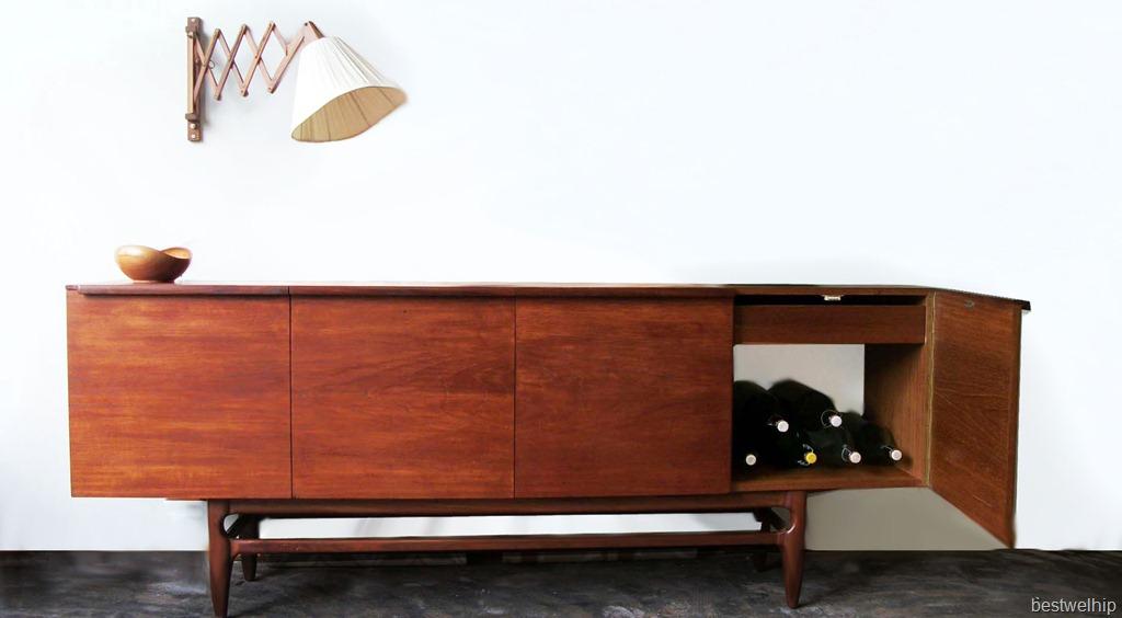 Deens vintage dressoir sideboard teak bestwelhip for Deense meubels vintage