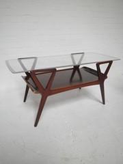 vintage design coffee table, salontafel Cor Alons stijl