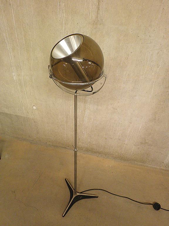 Dutch design Raak Globe vintage vloerlamp | Bestwelhip