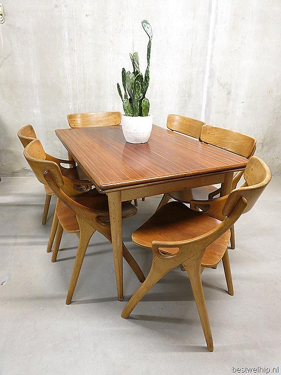 Hovmand olsen stoelen chairs dinner table bestwelhip - Tafel en stoelen dineren ...