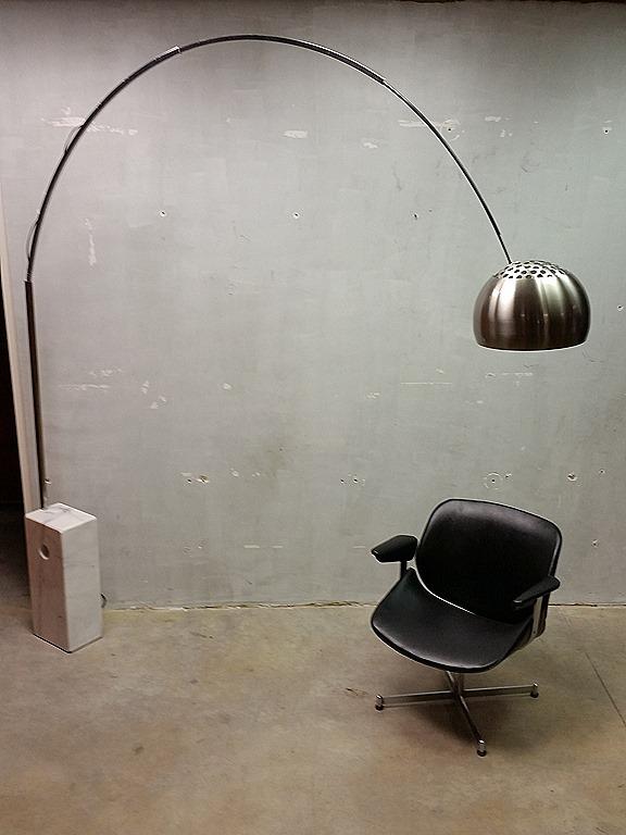 Mid Century Design Booglamp Vintage Floorlamp Bestwelhip