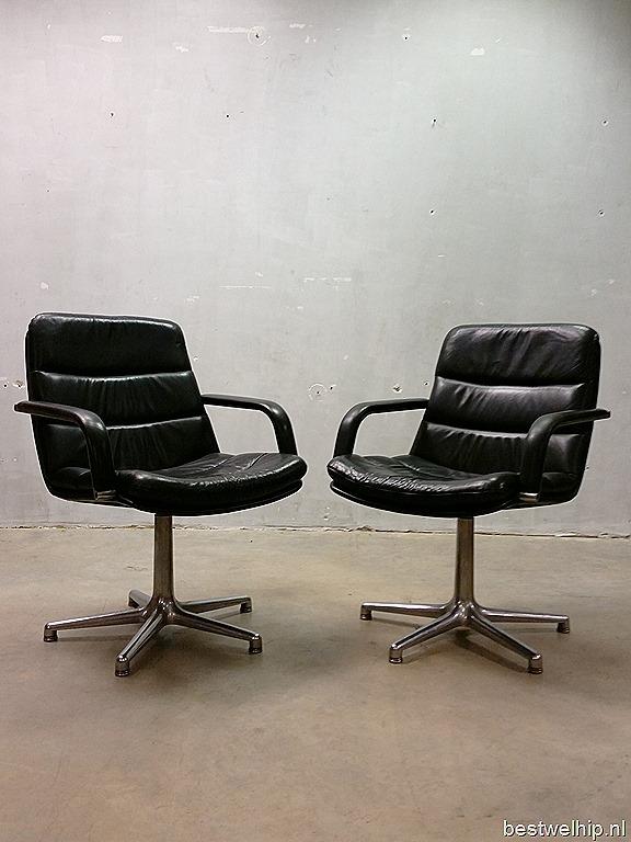 Artifort Bureaustoel Vintage.Artifort Channel Chair Vintage Design Chair Geoffrey Harcourt