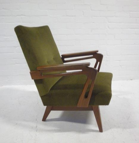 vintage design fauteuil deense stijl bestwelhip. Black Bedroom Furniture Sets. Home Design Ideas