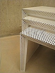 nesting tables miniset Pilastro stijl vintage design