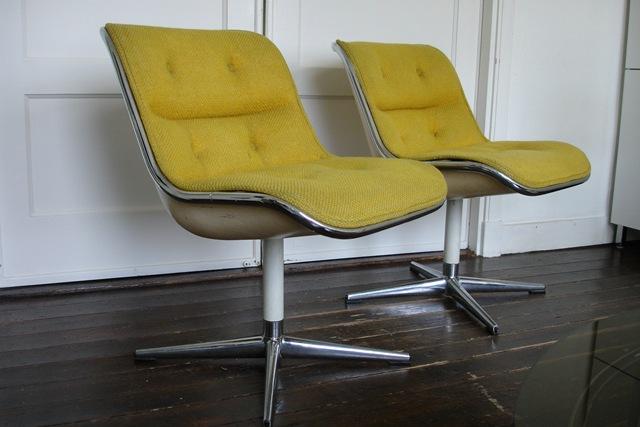Vintage design stoelen charles pollock knoll bestwelhip - Knoll stoelen ...