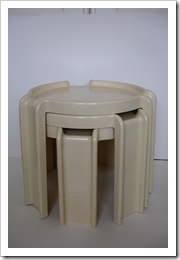 giotto stoppino 'nesting tables' kartell