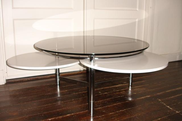 Ronde Vintage Design Salontafel