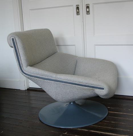Artifort model f519 geoffrey harcourt bestwelhip for Kuipstoel fauteuil