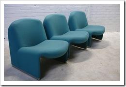 Alki chair, design Ciancarlo Piretti, Castelli