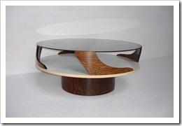 vintage design salontafel Pastoe stijl, retro salontafel