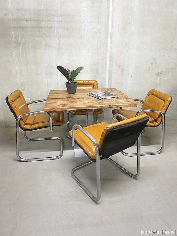 Eetkamer stoelen mid century design Italian vintage design dinner ...