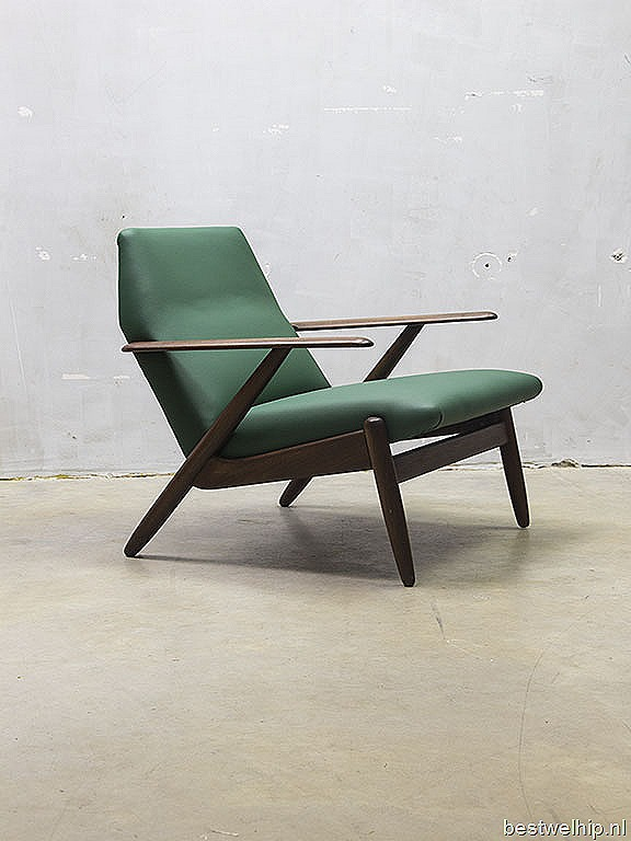 Lounge Stoel Wing : Design lounge chair armchair vintage stoel ...