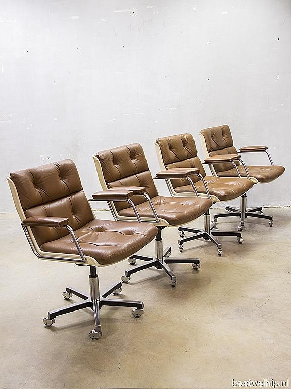 Vintage Design Bureaustoel.Mid Century Modern Vintage Design Bureaustoel Vergaderstoel Office