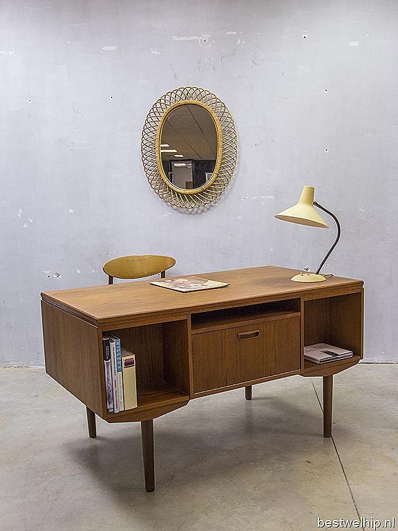 danish vintage design desk j svenstrup bureau deens vintage design bestwelhip. Black Bedroom Furniture Sets. Home Design Ideas