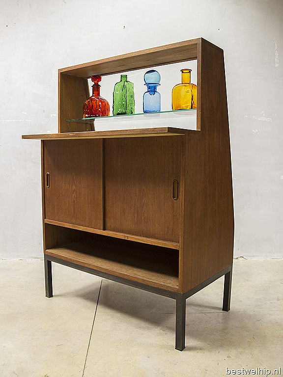 fifties vintage vitrine kast barkast winkelvitrine counter bestwelhip. Black Bedroom Furniture Sets. Home Design Ideas