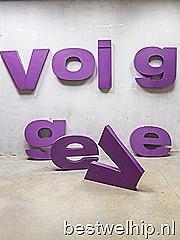 Authentieke metalen letters vintage industrieel XL