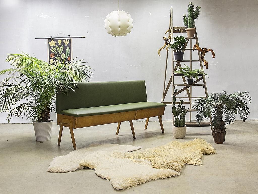 Industrieel Design Vintage.Vintage Design Eettafel Bank Industrieel Vintage Sofa Mid