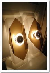 Perspex Raak wandlamp, retro wandlamp wit