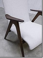 Webe Louis van Teeffelen vintage design lounge fauteuil arm chair