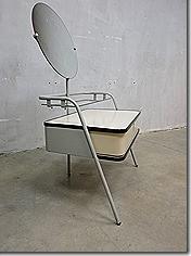 Vintage Auping kaptafel mid century design dressing table vanity
