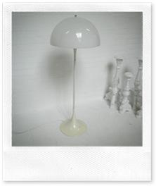 Panthella vloer lamp Verner Panton, Louis Poulsen