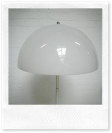 vintage design lamp Panthella Verner Panton, Louis Poulsen
